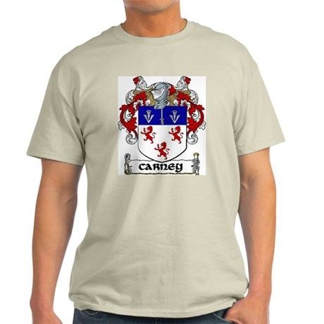 Carney Coat of Arms Light T-Shirt