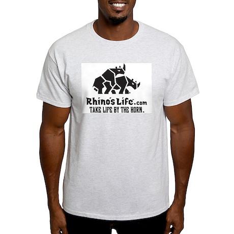 Rhino's Life Light T-Shirt - Black Logo