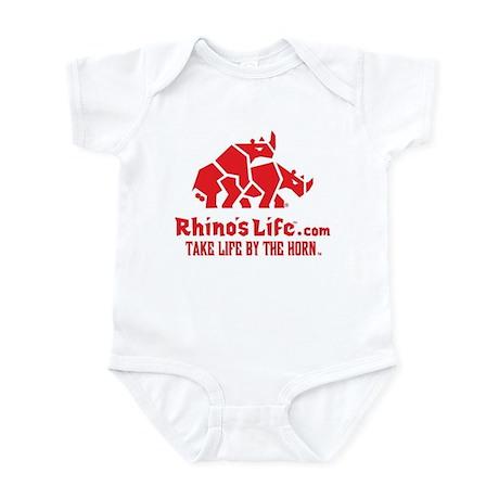 Rhino's Life Infant Bodysuit - Red Logo