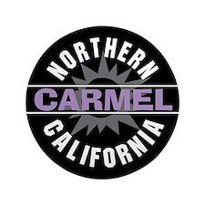 "Carmel California 3.5"" Button"