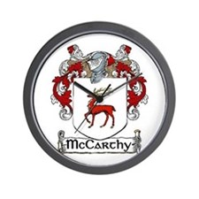 McCarthy Coat of Arms Wall Clock