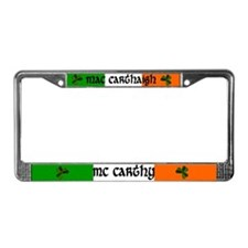 McCarthy Coat of Arms License Plate Frame