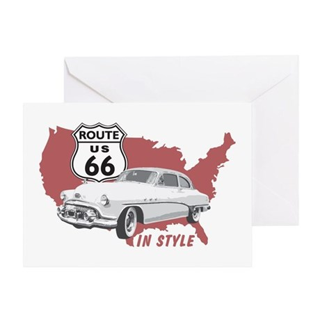 66 IN STYLE Greeting Card