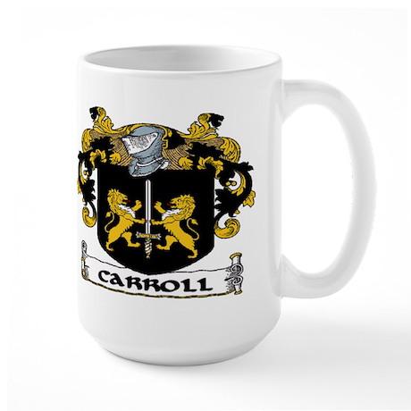 Carroll Coat of Arms Large Mug
