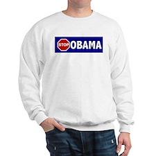 Stop Obama Sweatshirt