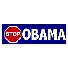 Stop Obama Bumper Bumper Sticker