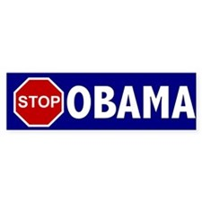 Stop Obama Bumper Sticker (10 pk)