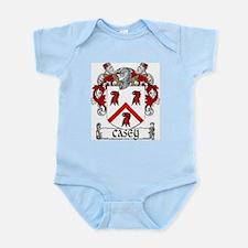 Casey Coat of Arms Infant Bodysuit
