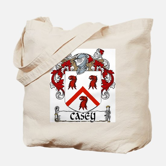Casey Coat of Arms Tote Bag