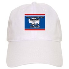 What Happens In WYOMING Stays There Baseball Cap
