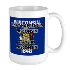 What Happens In WISCONSIN Stays There Mug