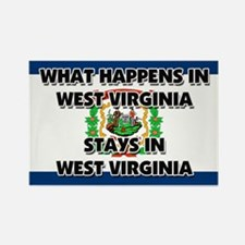 What Happens In WEST VIRGINIA Stays There Rectangl
