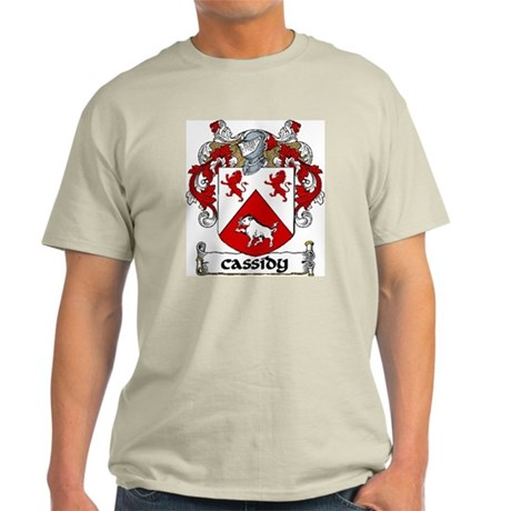 Cassidy Coat of Arms Light T-Shirt