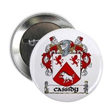 """Cassidy Coat of Arms 2.25"""" Button (10 pack)"""