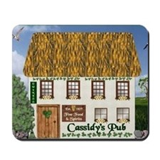 Cassidy Coat of Arms Mousepad