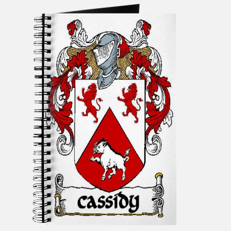 Cassidy Coat of Arms Journal
