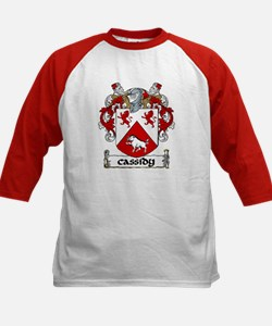 Cassidy Coat of Arms Kids Baseball Jersey