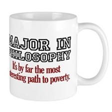 Major in Philosophy Small Mug
