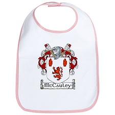 McCauley Coat of Arms Bib