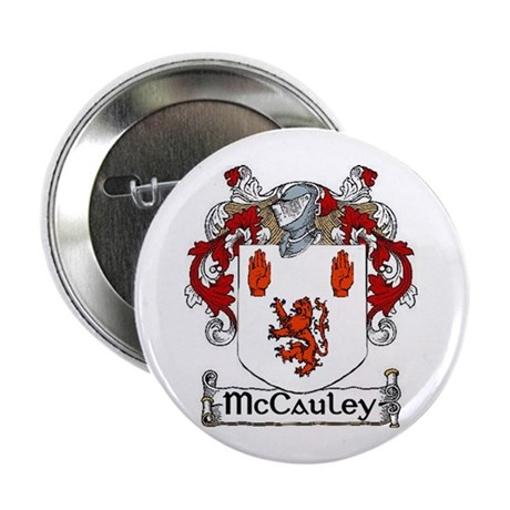 """McCauley Coat of Arms 2.25"""" Button (10 pack)"""