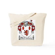 McCauley Coat of Arms Tote Bag