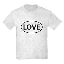 LOVE Oval T-Shirt