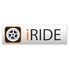 iRide Bumper Bumper Sticker