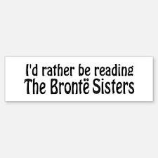 Bronte Sisters Bumper Bumper Sticker