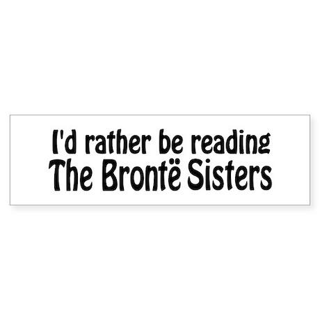 Bronte Sisters Sticker (Bumper)