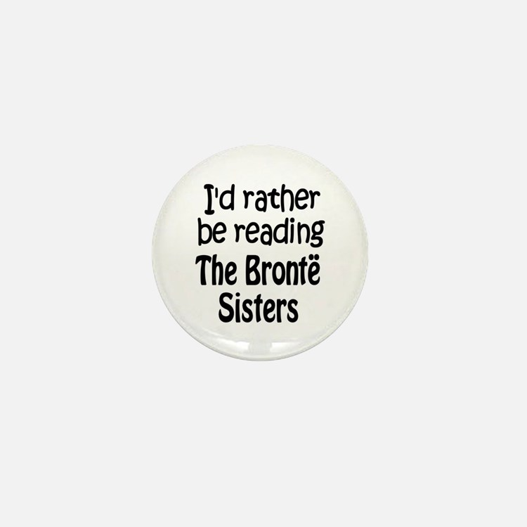 Bronte Sisters Mini Button