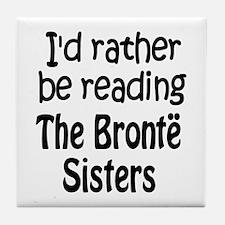 Bronte Sisters Tile Coaster