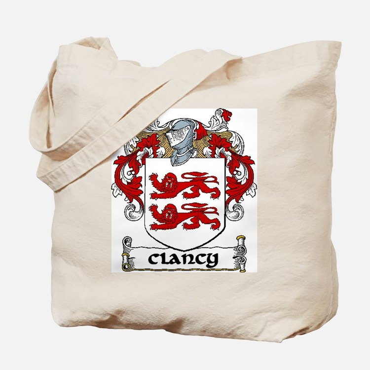 Clancy Coat of Arms Tote Bag