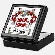 Clancy Coat of Arms Keepsake Box
