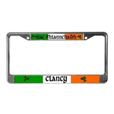 Clancy Coat of Arms License Plate Frame