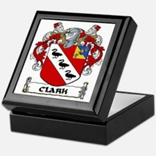 Clark Coat of Arms Keepsake Box