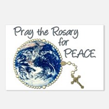 Pray the Rosary for Peace Postcards (Package of 8)