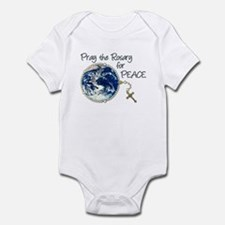 Pray the Rosary for Peace Infant Bodysuit