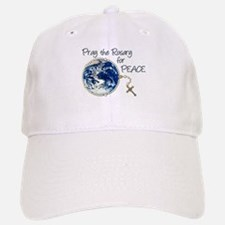Pray the Rosary for Peace Baseball Baseball Cap