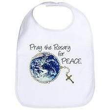 Pray the Rosary for Peace Bib