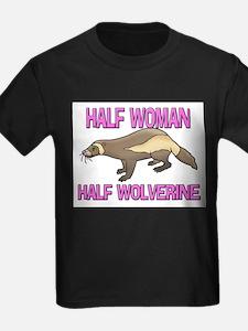Half Woman Half Wolverine T