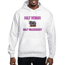 Half Woman Half Wildebeest Jumper Hoody