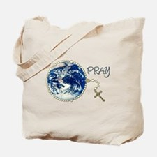 World Prayer Tote Bag