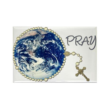 World Prayer Rectangle Magnet (100 pack)