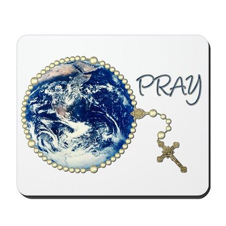 World Prayer Mousepad