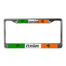 Clinton Coat of Arms License Plate Frame