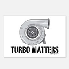 Turbo Matters Postcards (Package of 8)