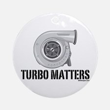 Turbo Matters Ornament (Round)