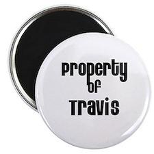 Property of Travis Magnet