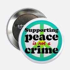 Supporting peace. Button