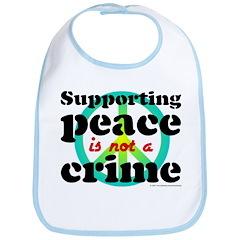 Supporting peace. Bib